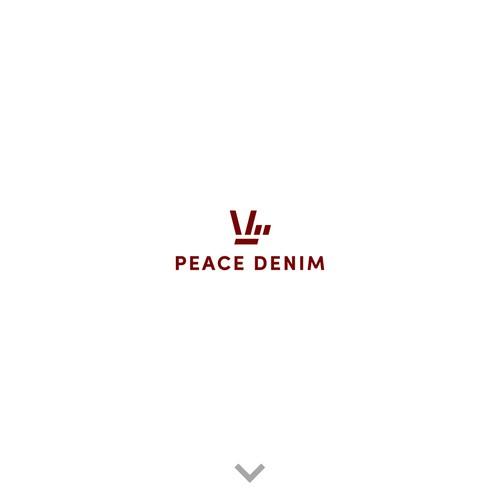 Peace Denim - logo design