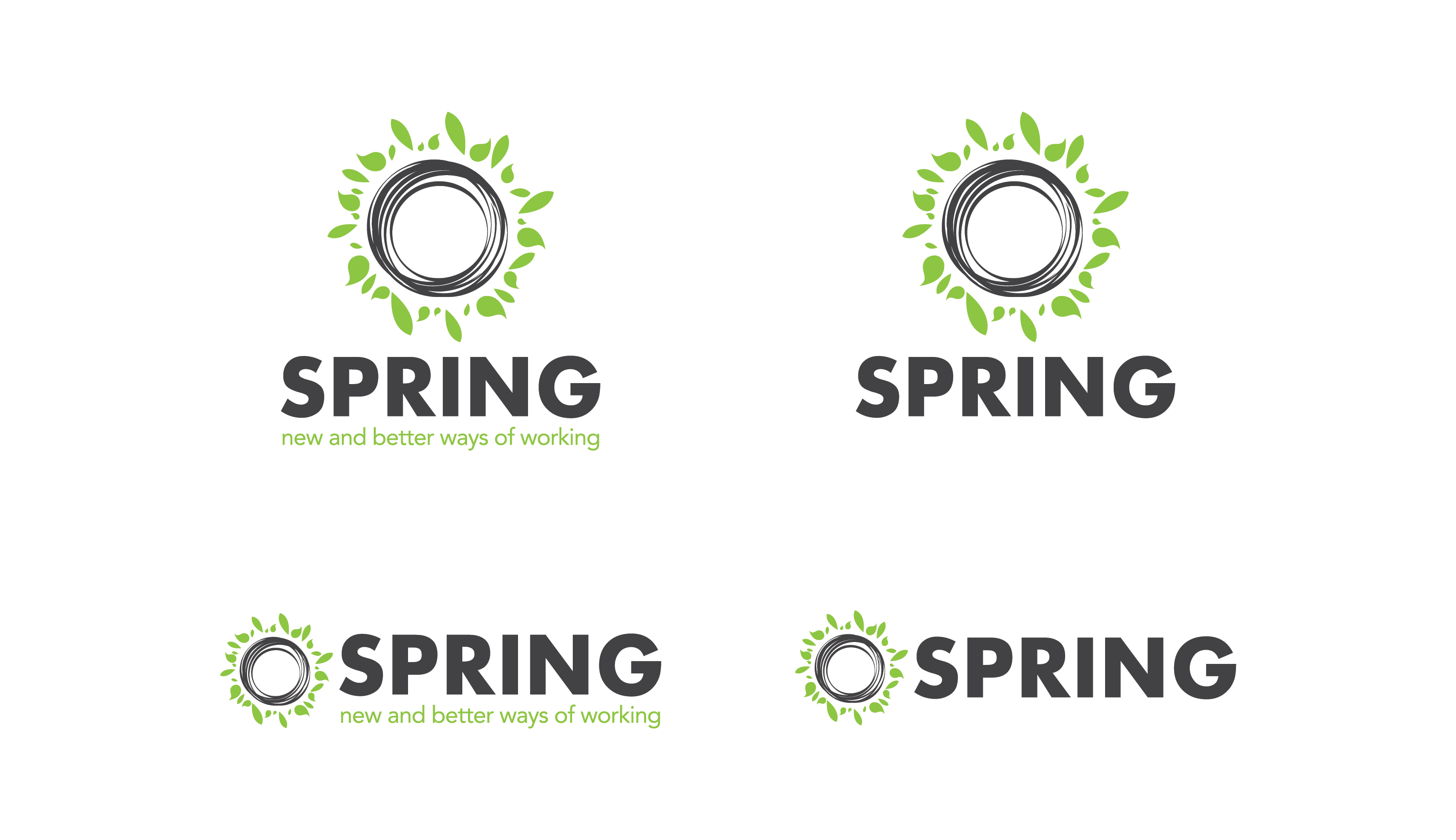 Brand and logo for spring.