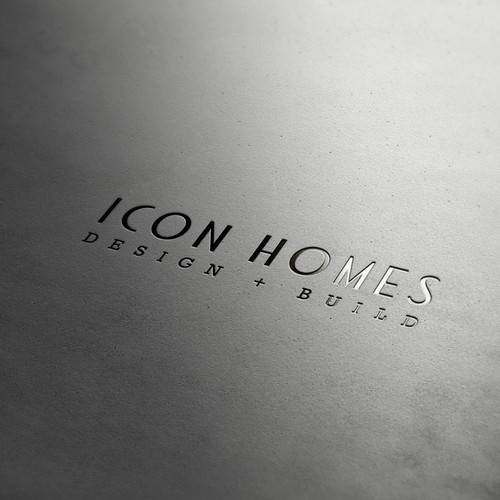Help ICON HOMES LLC with a new logo and business card