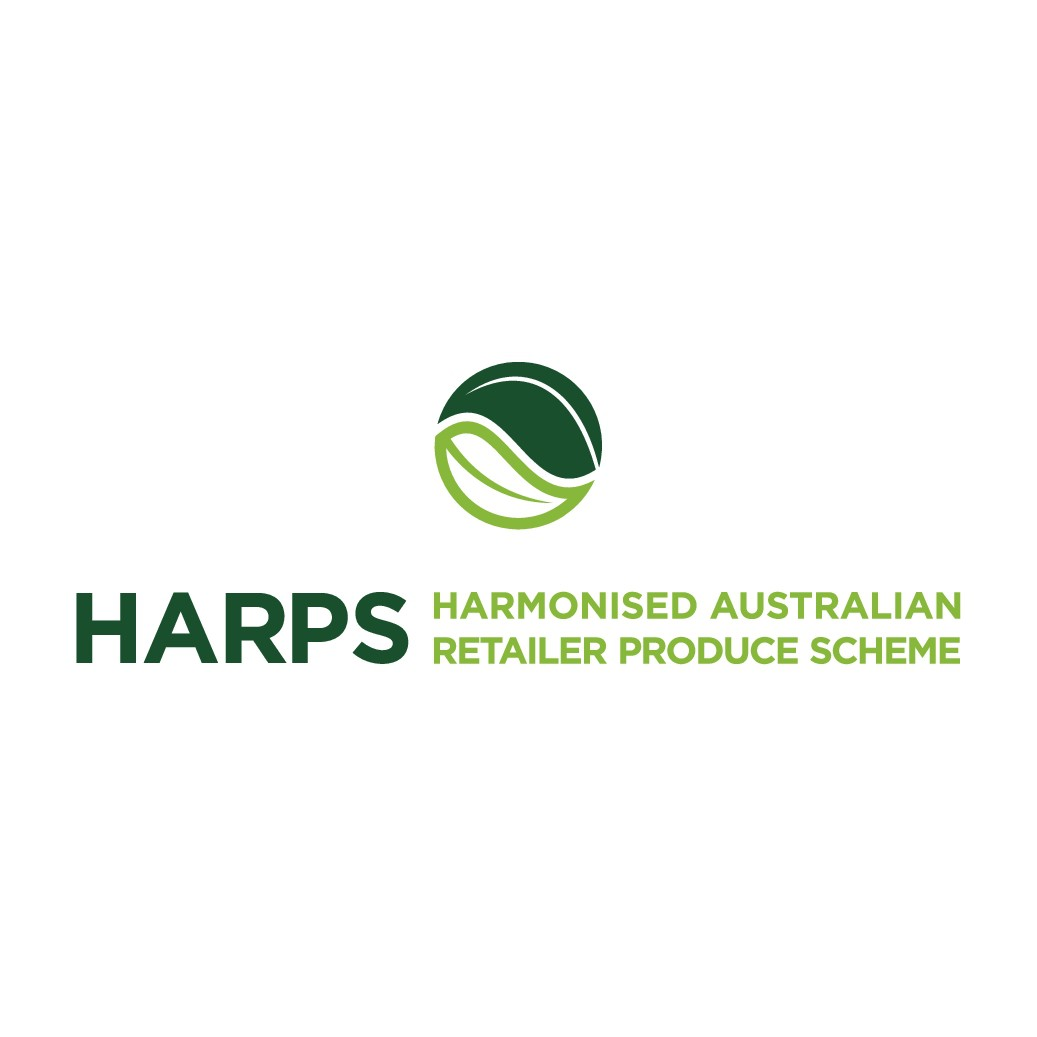 Need a modern logo for the Harmonised Australian Retailer Produce Scheme (HARPS).