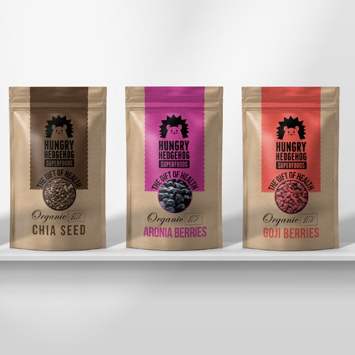Packaging design for superfoods