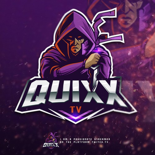 The site www.twitch.tv/quixx_tv needs a new presentation!