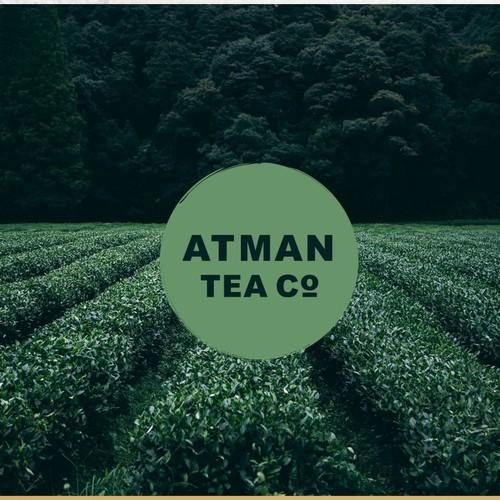 logo for ATMAN TEA