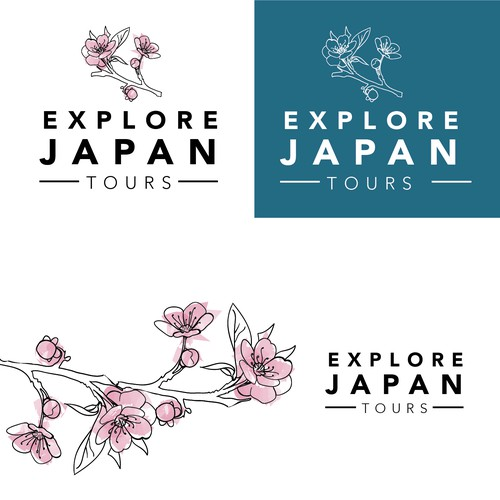Logo for travel company
