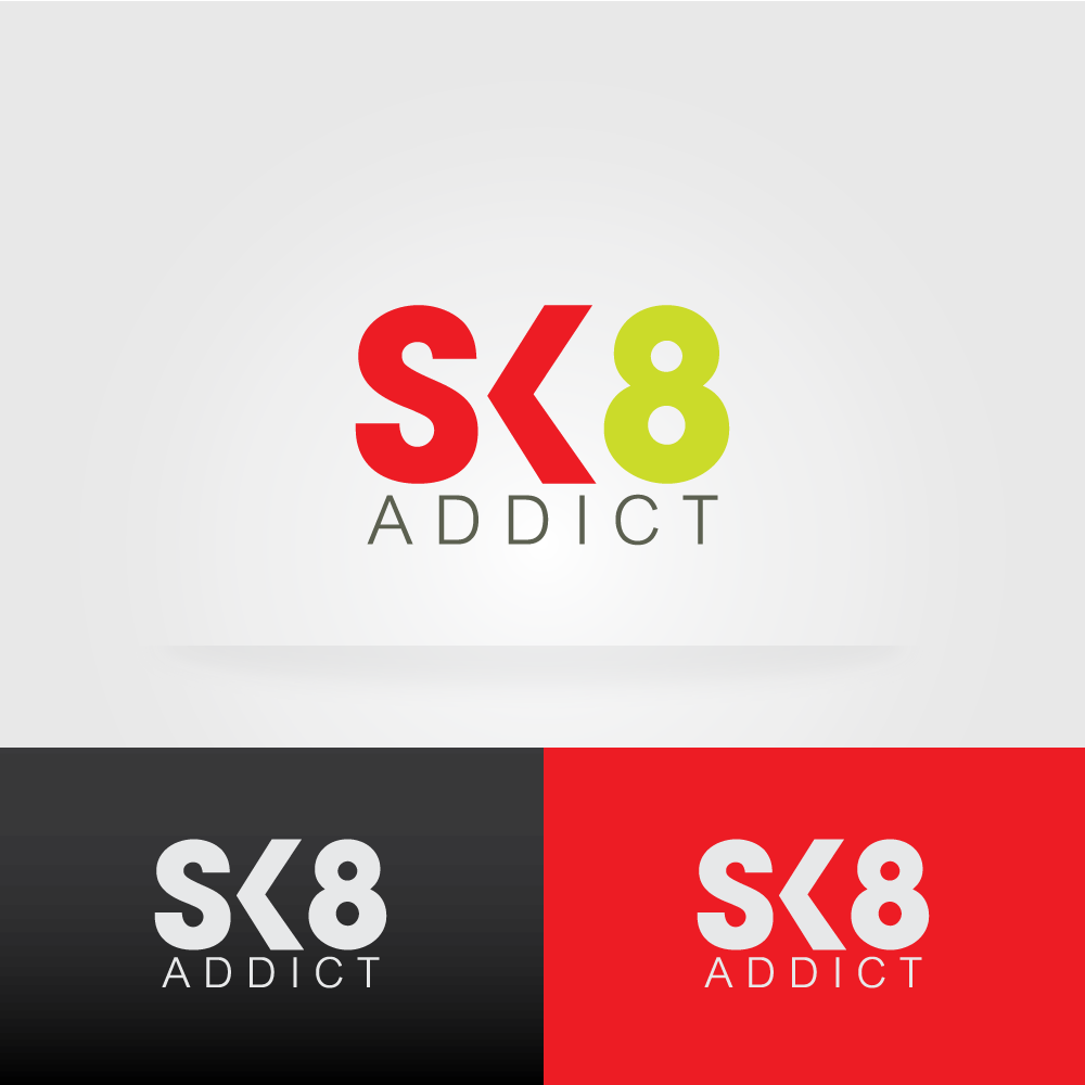 Help sk8 addict  with a new logo. THEY CHALLENGE YOU!