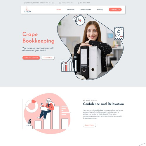 Accounting firm web design