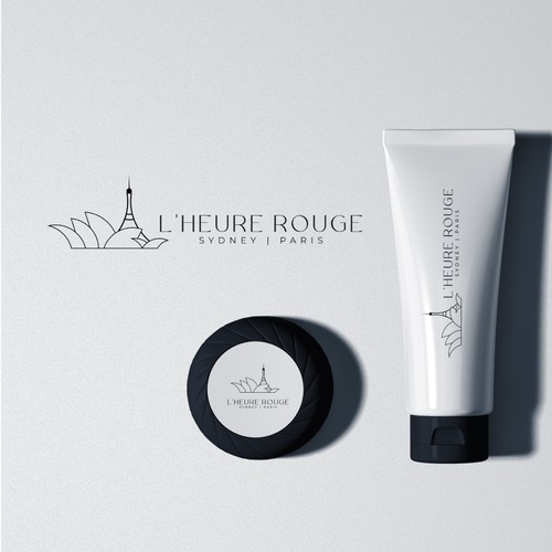 Luxury evoking logo for feminine hair care products