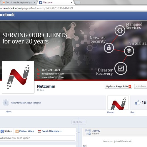 Netcomm Facebook Cover