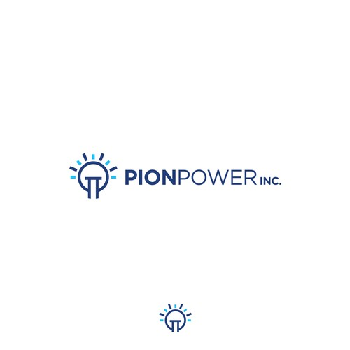 Pion Power logo concept