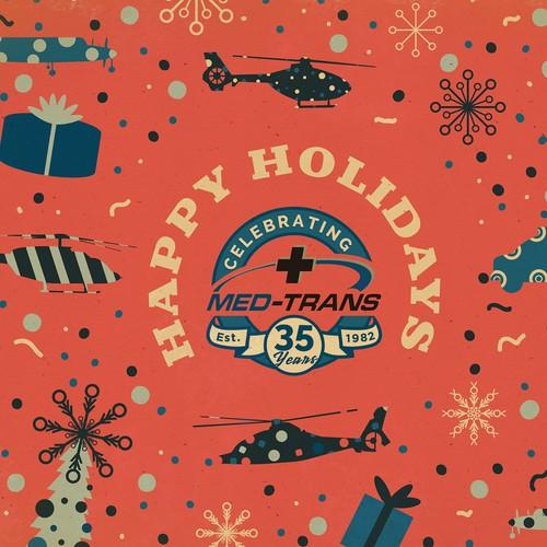 Holiday Postcard Design