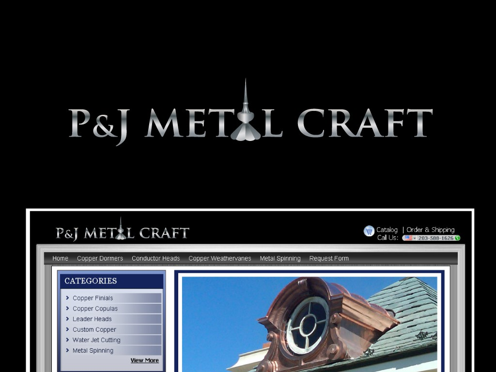 """NEED YOUR HELP - NEW LOGO that Says Quality for """"P & J Metal Craft"""""""
