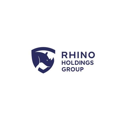 Logo Design for RHINO Holding Group
