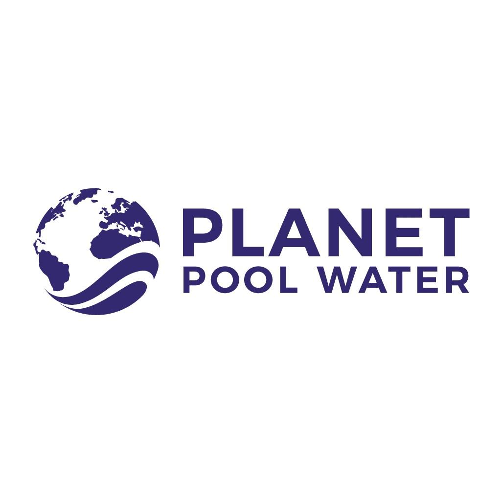 Planet Pool Water Logo Design