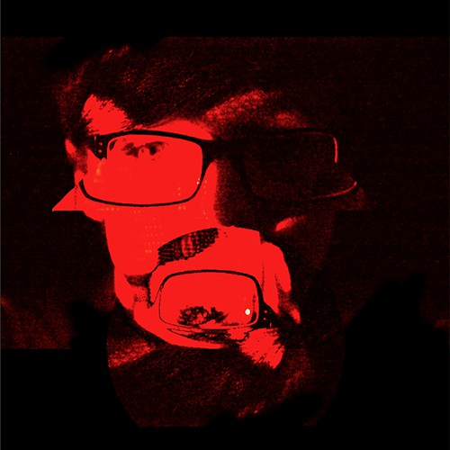 Bold album cover for podcast