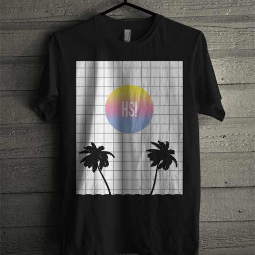 Vaporwave t-shirt design