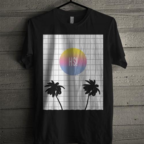 Vaporwave t-shirt design