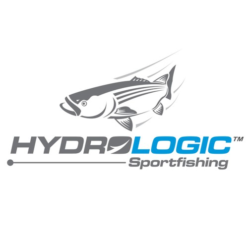 Sophisticated and sharp logo for hardcore charter fishing business.