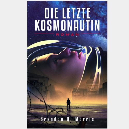 Sci fi novel cover artwork