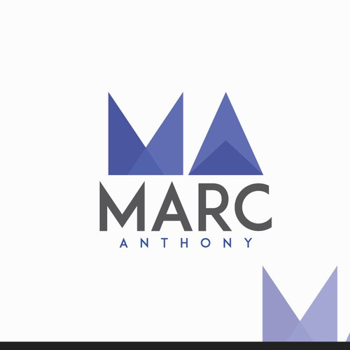 Create a solid logo for Marc Anthony EDM producer.