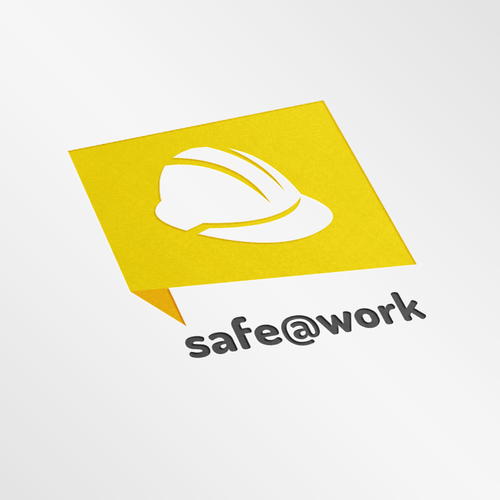 Create a modern unique logo for an innovative Safety App