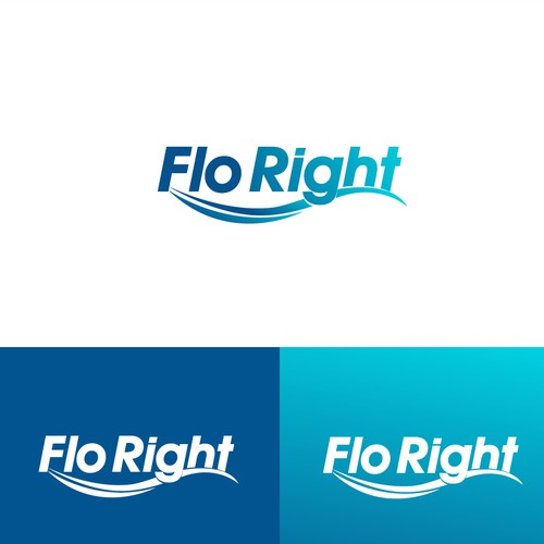 FloRight logo design winner