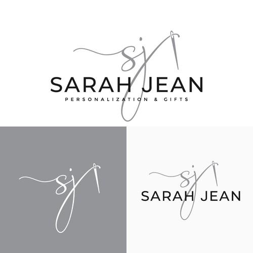 Logo concept for Sarah Jean.