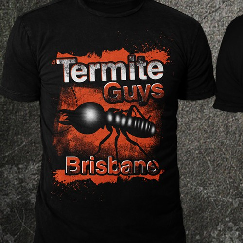 Design professional but cool Work Shirts for a young Team of Termite Guys