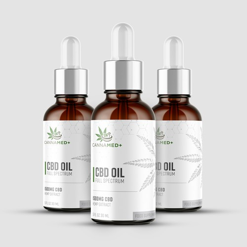 CannaMed+ CBD products in form of oils