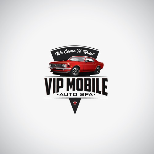 Classy Logo for a new Mobile Car Detailing Comp