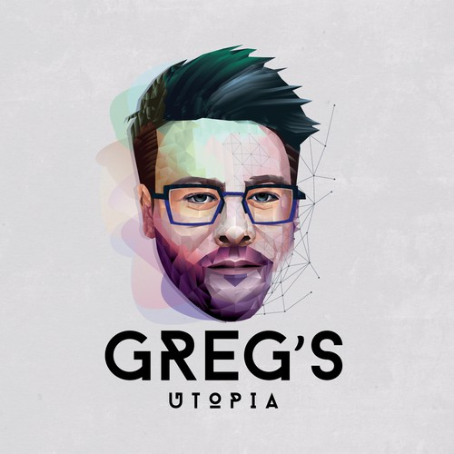 modern logo for GREG'S UTOPIA