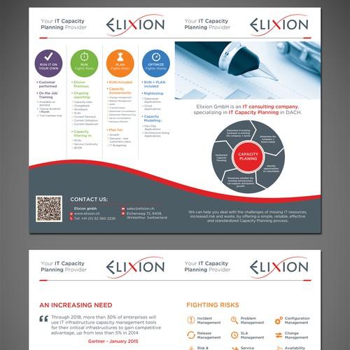 Elixion Half Fold Brochure