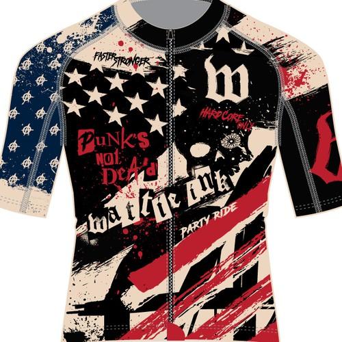 Wattie Ink American Punk Cycling