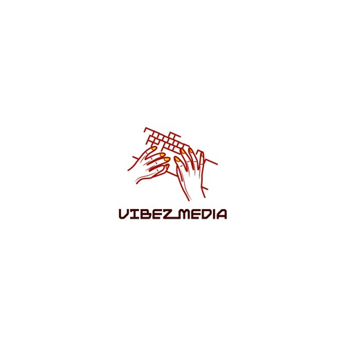 Create Logo Vibez Media