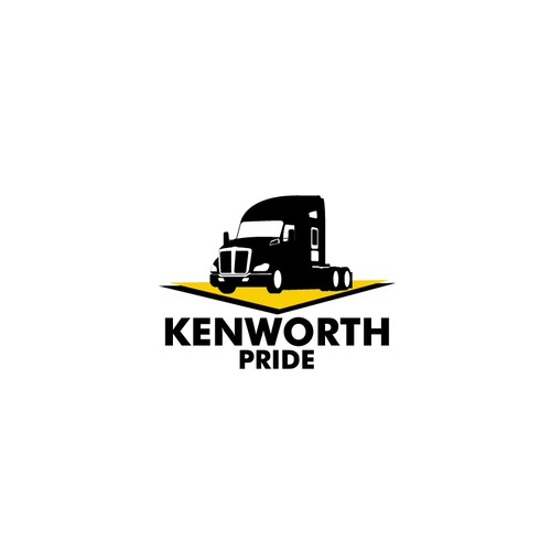 logo concept for Kenworth Pride