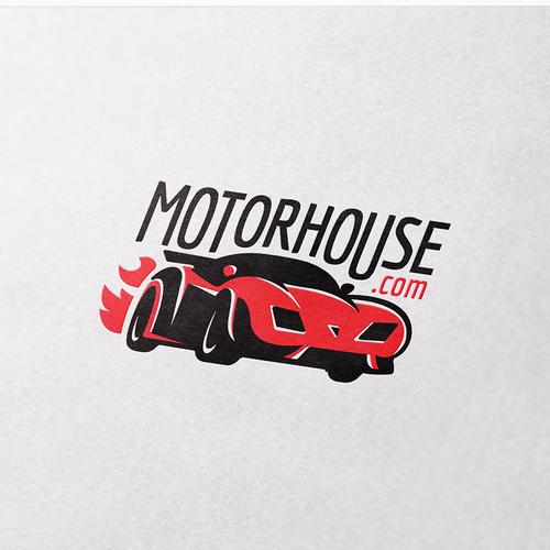 Logo for Custom Car Shop