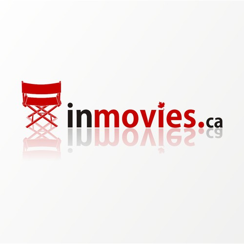 inMovies.ca logo design