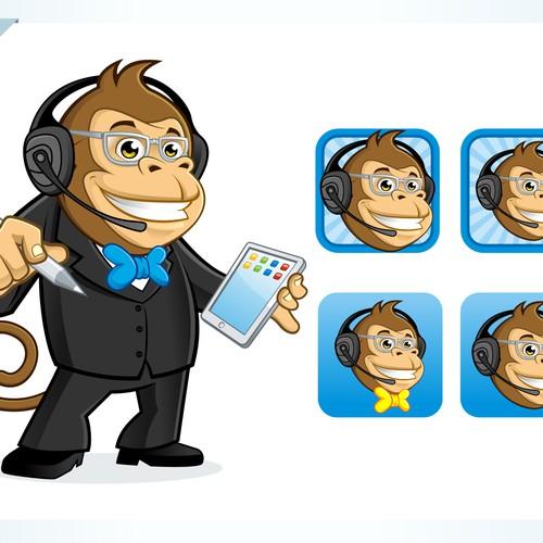 icon design - Helper Monkey