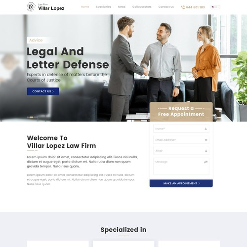 Law Firm : Legal and Letter Defence