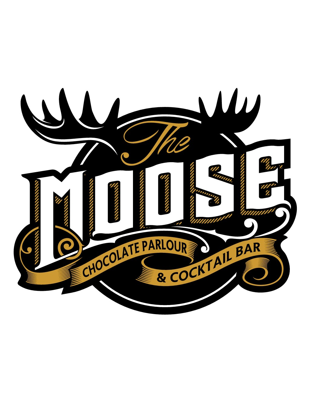 Downtown Cocktail Bar Logo - The Moose