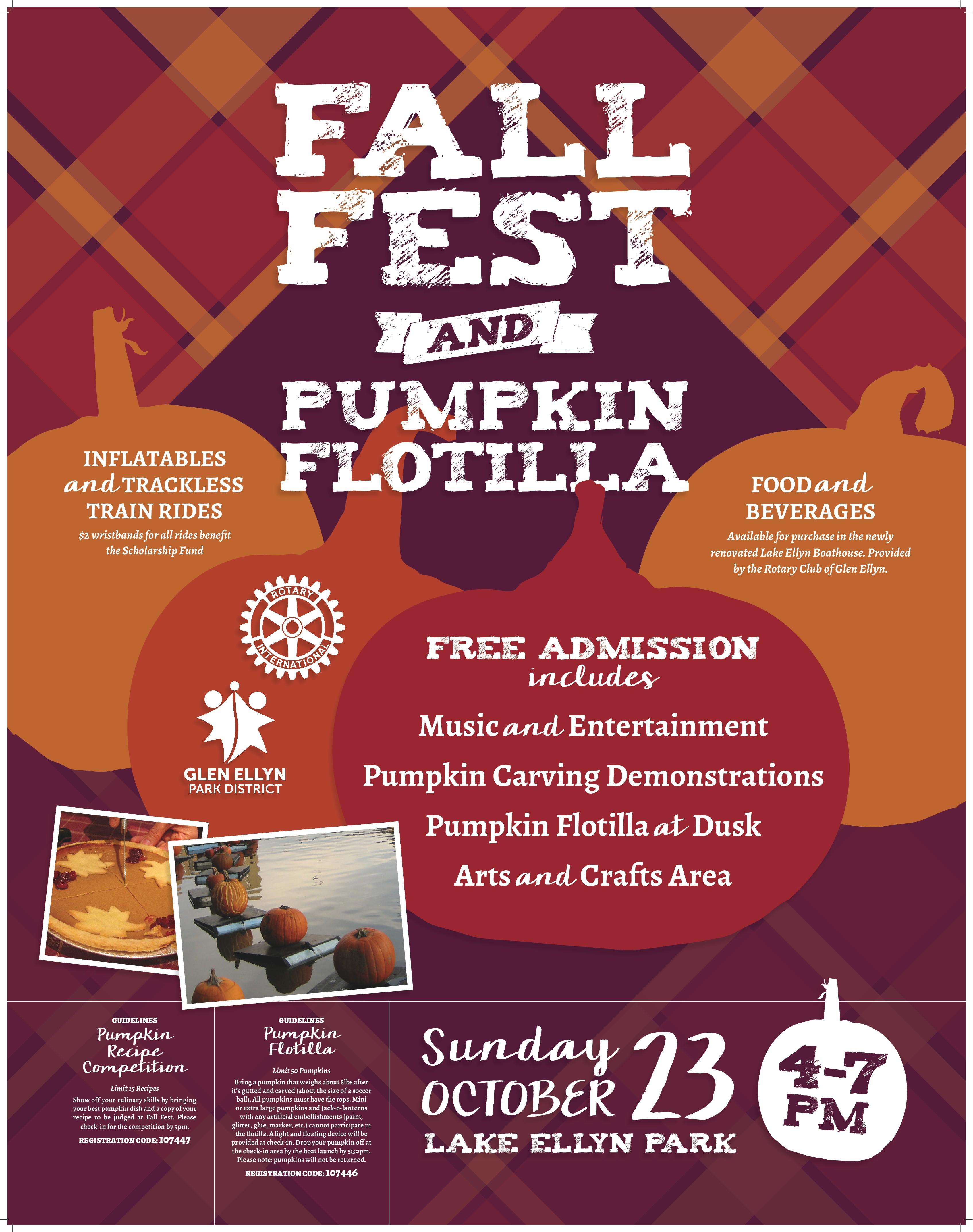Create Fun Fall Fest Poster Design