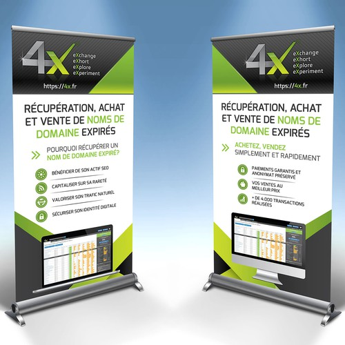 Create Trade Show banners for Domain Name Dropcatcher
