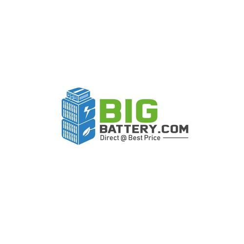 logo proposal for a Global Battery Company - BigBattery.Com