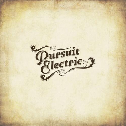 "Logo concept for ""Pursuit Electric Inc"" company"