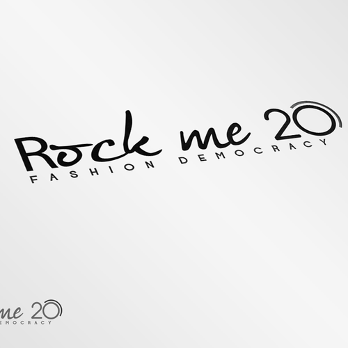 Create the new logo for Rock me 20