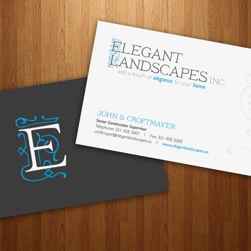 Help Elegant Landscapes, Inc. with a new logo