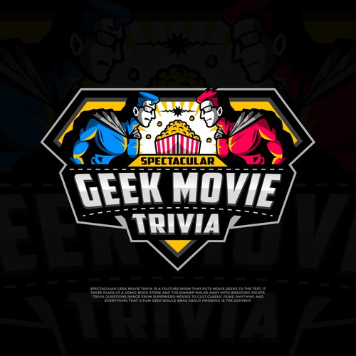 Logo for a Geeky Film Trivia Show!