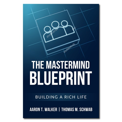 Clean and simple cover for The Mastermind Blueprint