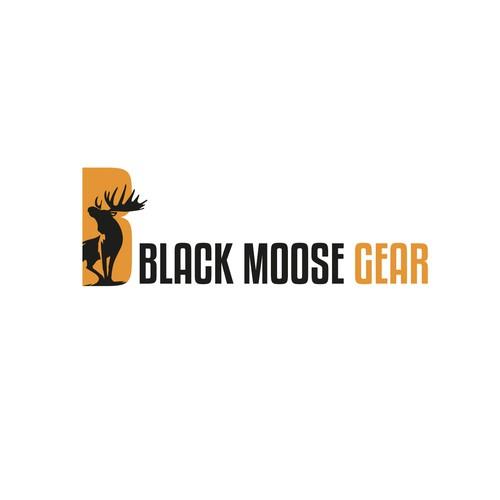 Black Moose Logo