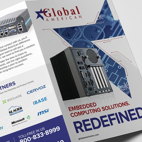 Bi-Fold Brochure for Global American