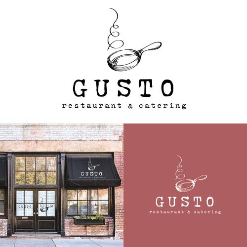 Gusto Restaurant & Catering Logo